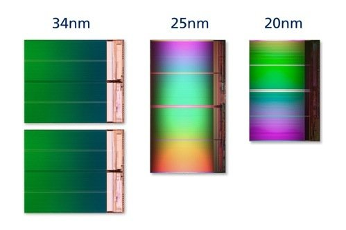 8GB die comparison