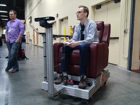 Kinected armchair
