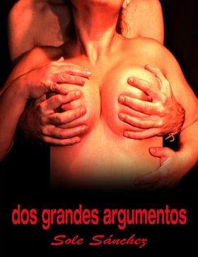 Sole Sánchez Mohamed's election advert photo, showing her breasts held by male hands