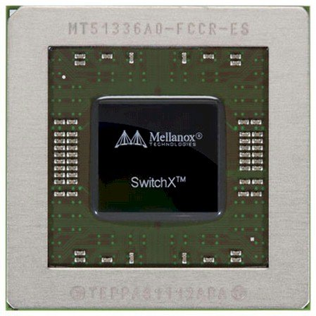 Mellanox SwitchX chip