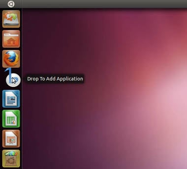 Ubuntu 11.04 - drag and drop