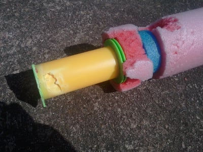 Damaged water pistol