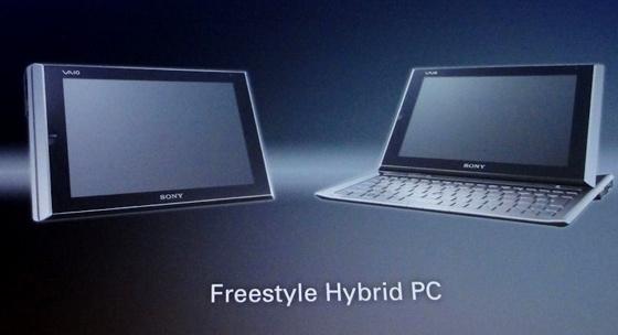 Sony netbook-cum-tablet