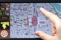 Toshiba LTPS touchscreen LCD