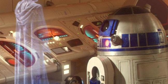 Hologram communication - Star Wars