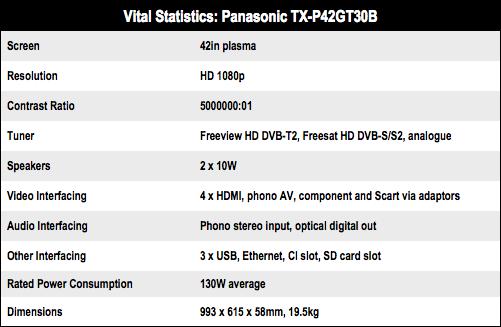 Panasonic TX-P42GT30B