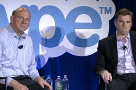 Steve Ballmer and Tony Bates
