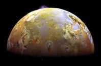 NASA image of Io