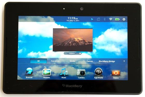 RIM BlackBerry PlayBook 7in tablet • The Register