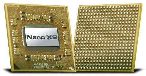 VIA Nano X2 processor