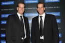 The Winklevoss twins, Cameron and Tyler