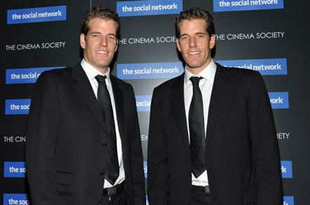HALF of all Bitcoin-investing Winklevoss twins predict $400bn market