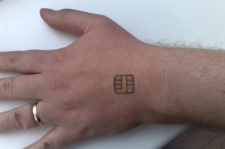 ISO7816 Tattoo