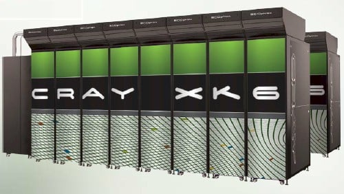 Cray XK6 CPU-GPU supercomputer