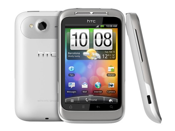 Htc wildfire weather not updating