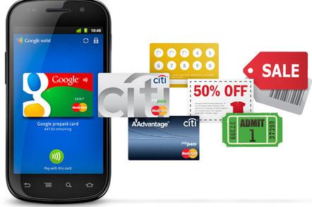Google Wallet 'vision' illustration