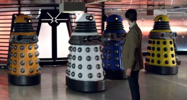 A still from Victory of the Daleks. Pic: BBC