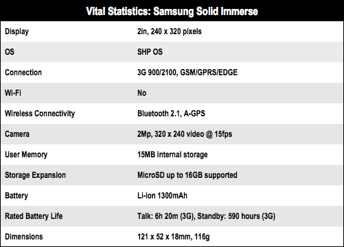 Samsung Solid Immerse GT-B2710