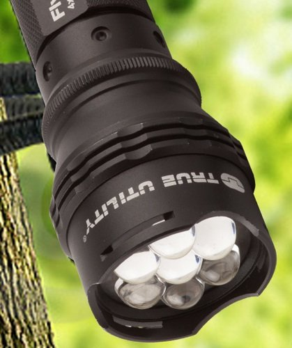 True Utility FlyEye 7 LED torch