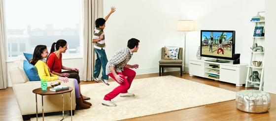 Kinect-gaming voor families