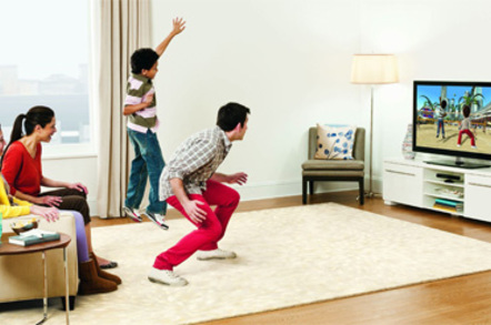 Kinect family gaming