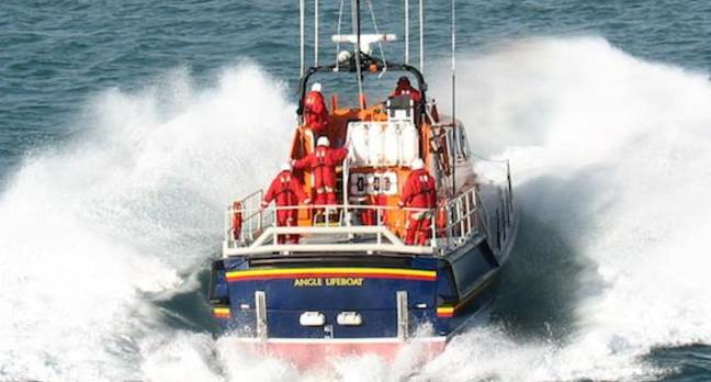 RNLI boat
