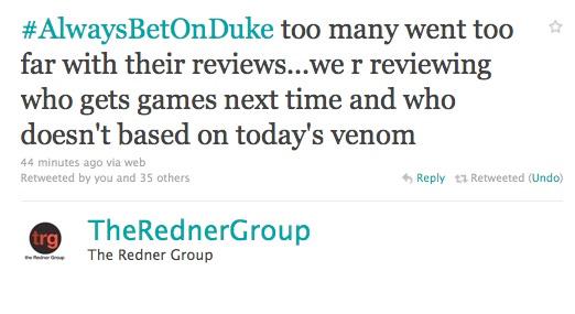 Duke Nukem Forever, Redner Group