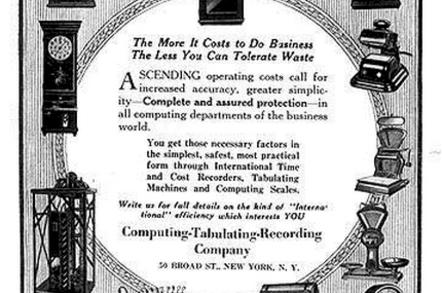 CTR IBM ad