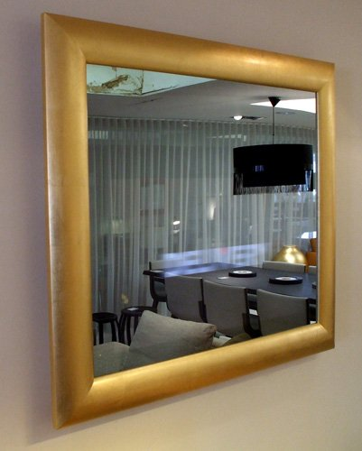 NEOD Home Modern Gold Mirror
