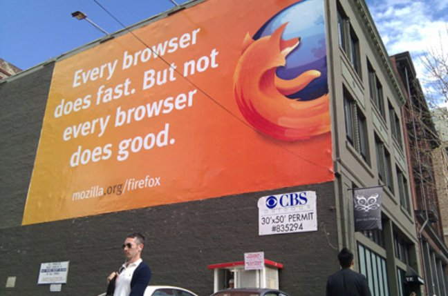 Firefox ad 2nd St SF 2011