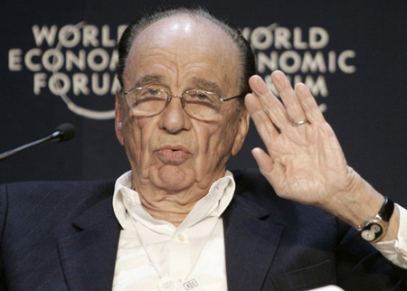 Rupert Murdoch @ Davos 2009 (credit: World Economic Forum)
