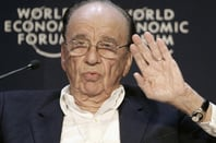 Rupert Murdoch @ Davos 2009 credit: World Economic Forum
