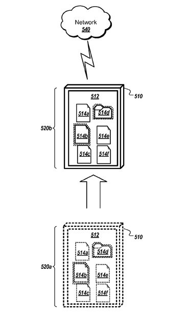 Apple gesture-based user interface patent application illustration