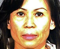 Police mugshot of Catherine Kieu Becker