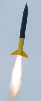 Rocket launch. Pic: Festival of Rocketry 2011
