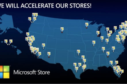 Microsoft's planned new stores