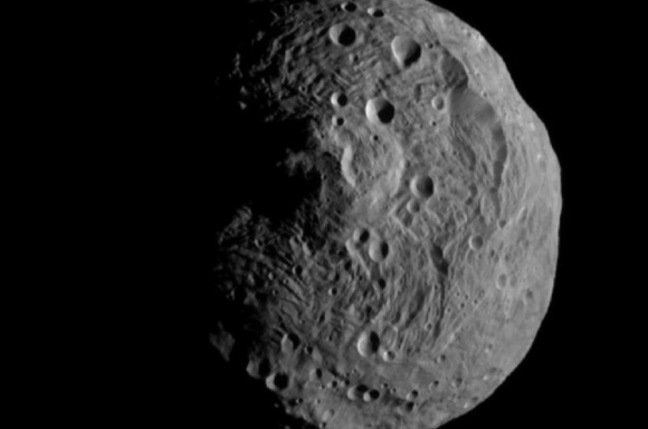 Dawn's image of Vesta. Pic: NASA