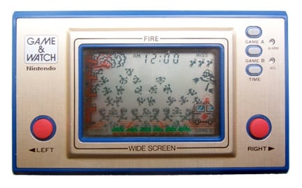 Fire on Game and Watch