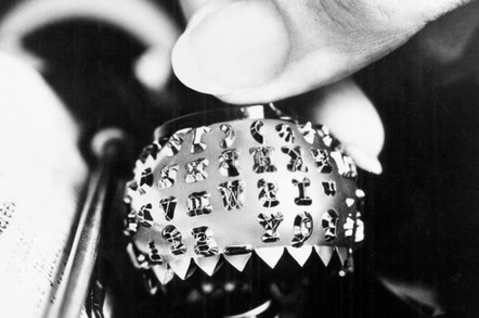 IBM Selectric Golfball