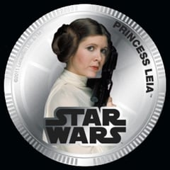 Princess Leia coin