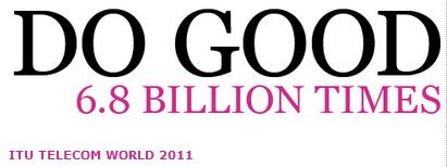 ITU World logo - Do Good