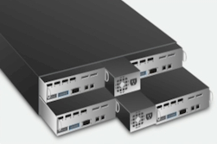 Nutanix cloud appliance exploded view