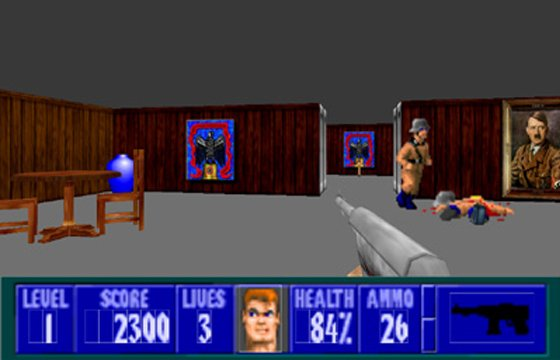 Id software wolfenstein 3d the register for Wolfenstein 3d