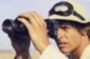 Luke Skywalker with binoculars