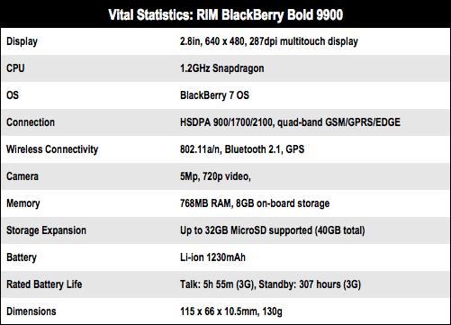 RIM BlackBerry Bold 9900 • The Register