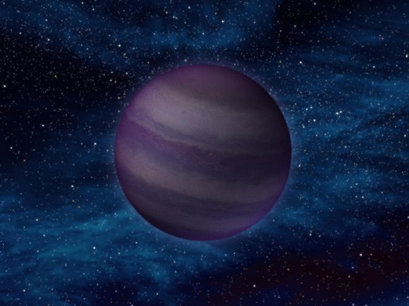 Artist's impression of a Y dwarf. Pic: NASA