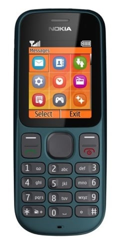 Nokia 100 mobile phone