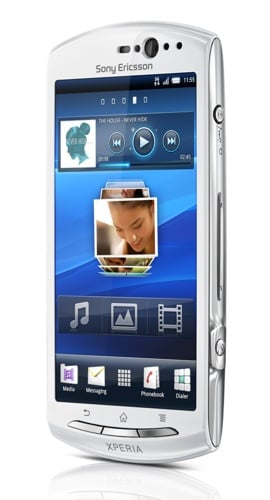 Sony Ericsson Xperia Neo V Android 2.3.4 Gingerbread smartphone