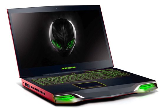dell alienware m18x gaming notebook the register. Black Bedroom Furniture Sets. Home Design Ideas