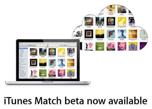 iTunes Match beta announcement from Apple